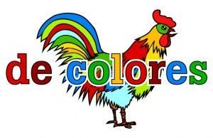 1 clipart colores rooster.