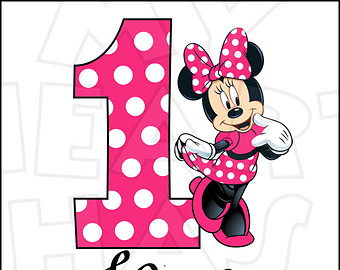 1 clipart minnie mouse.