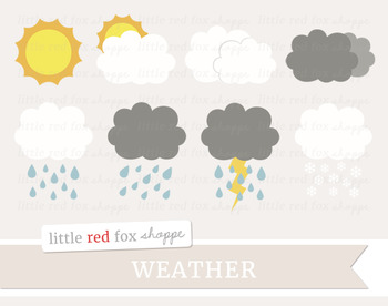 1 clipart weather forecast.