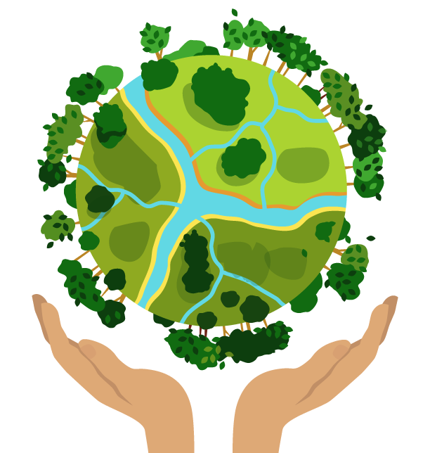 earth day clipart transparent background