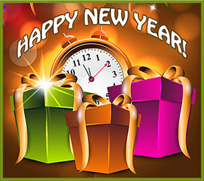 happy new year 2019 clipart animated