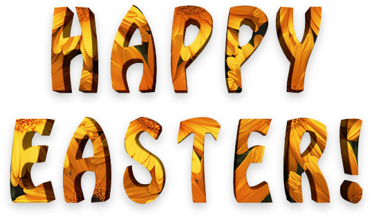 happy easter clipart animated