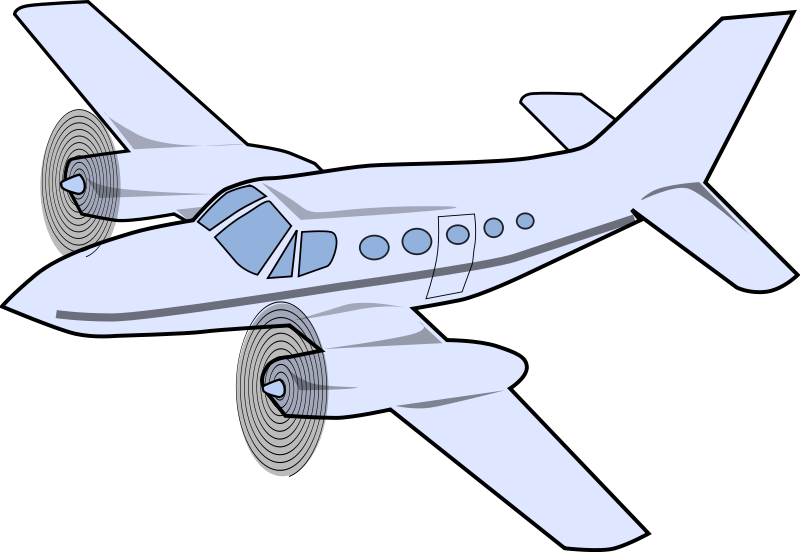 clipart airplane small