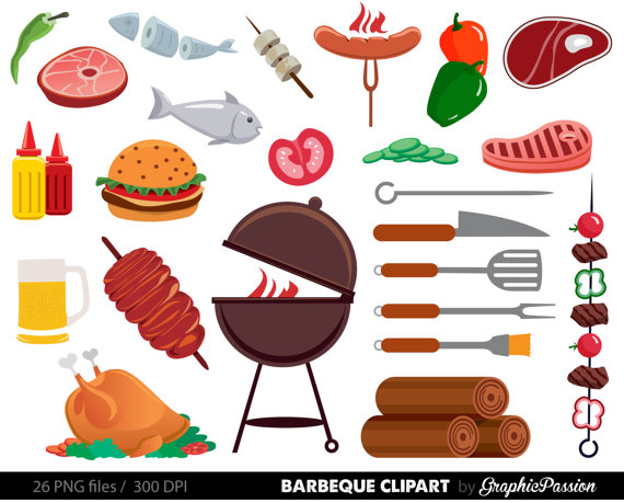 Lunch clipart bbq.