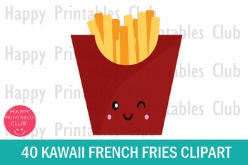 40 clipart fries.