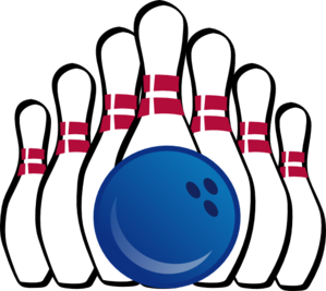 bowling clipart person