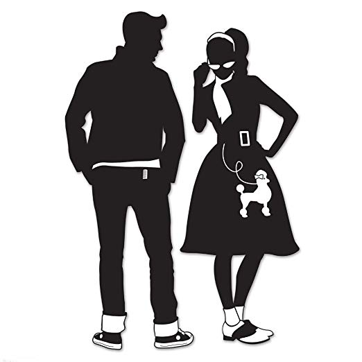 50s clipart greaser.