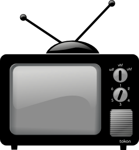 clipart tv old