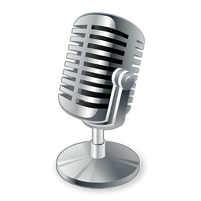 microphone clipart transparent background