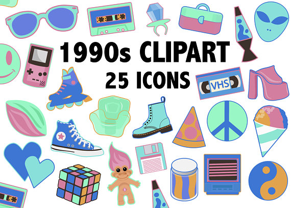 90s clipart clothing.