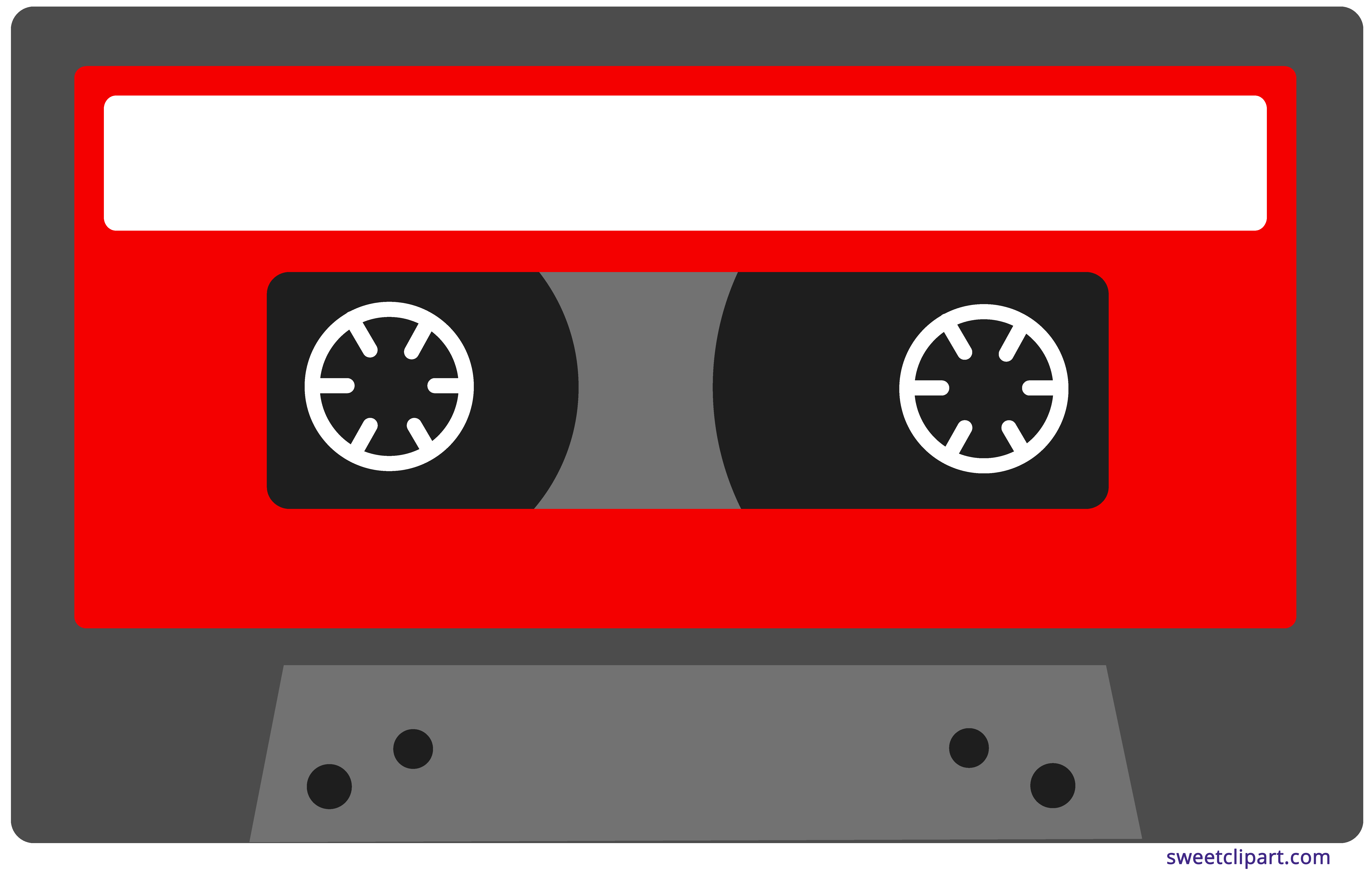 cassette tape clipart drawing