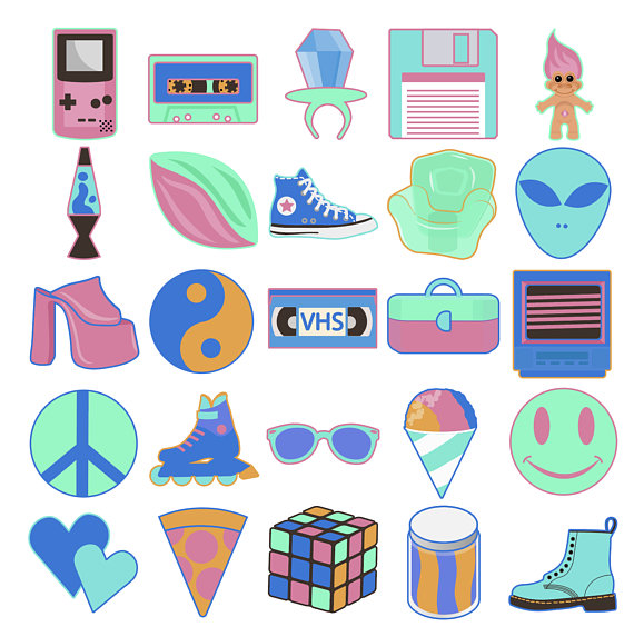 90s clipart totally.