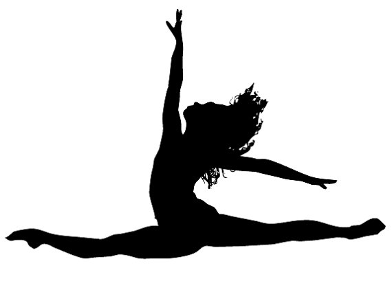 Acro clipart dancer leaping.
