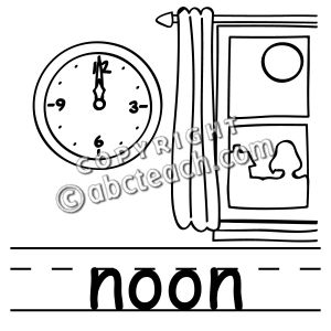 Afternoon clipart noon.