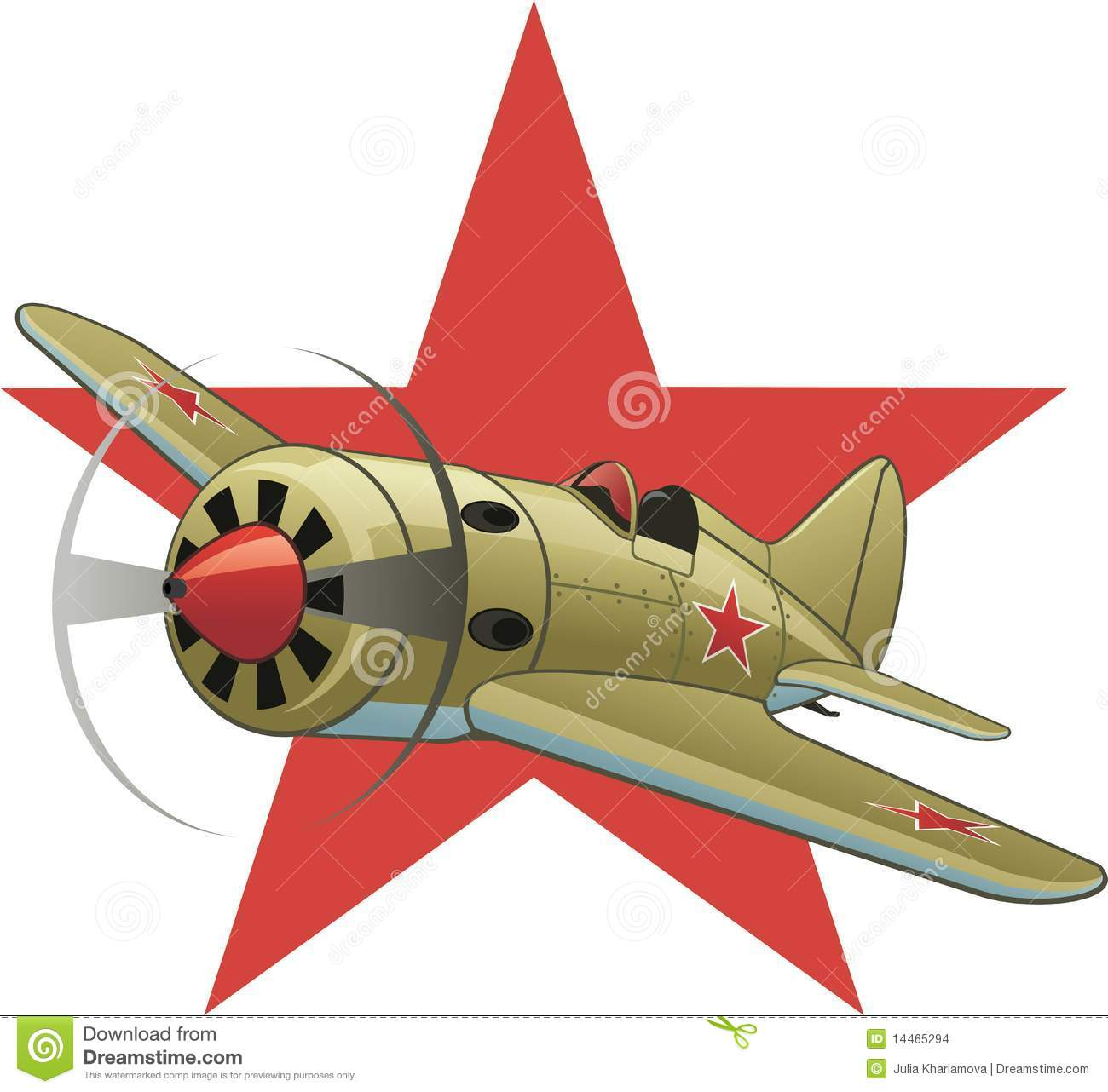 Airplane clipart wwii.