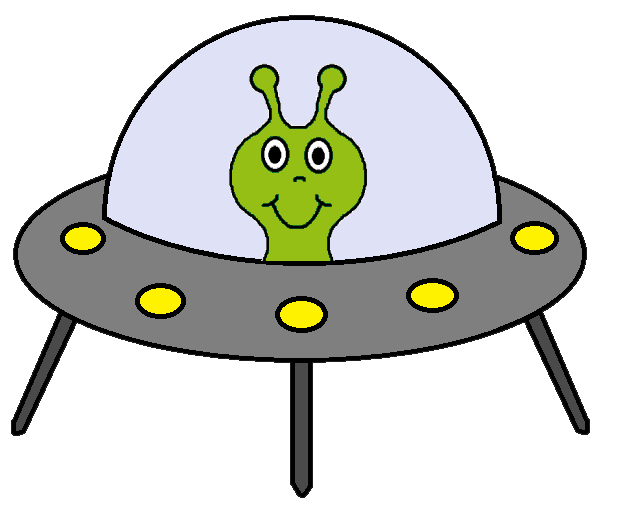 Alien clip art transparent background.