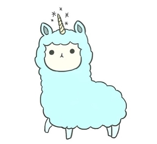 Alpaca clipart transparent tumblr.