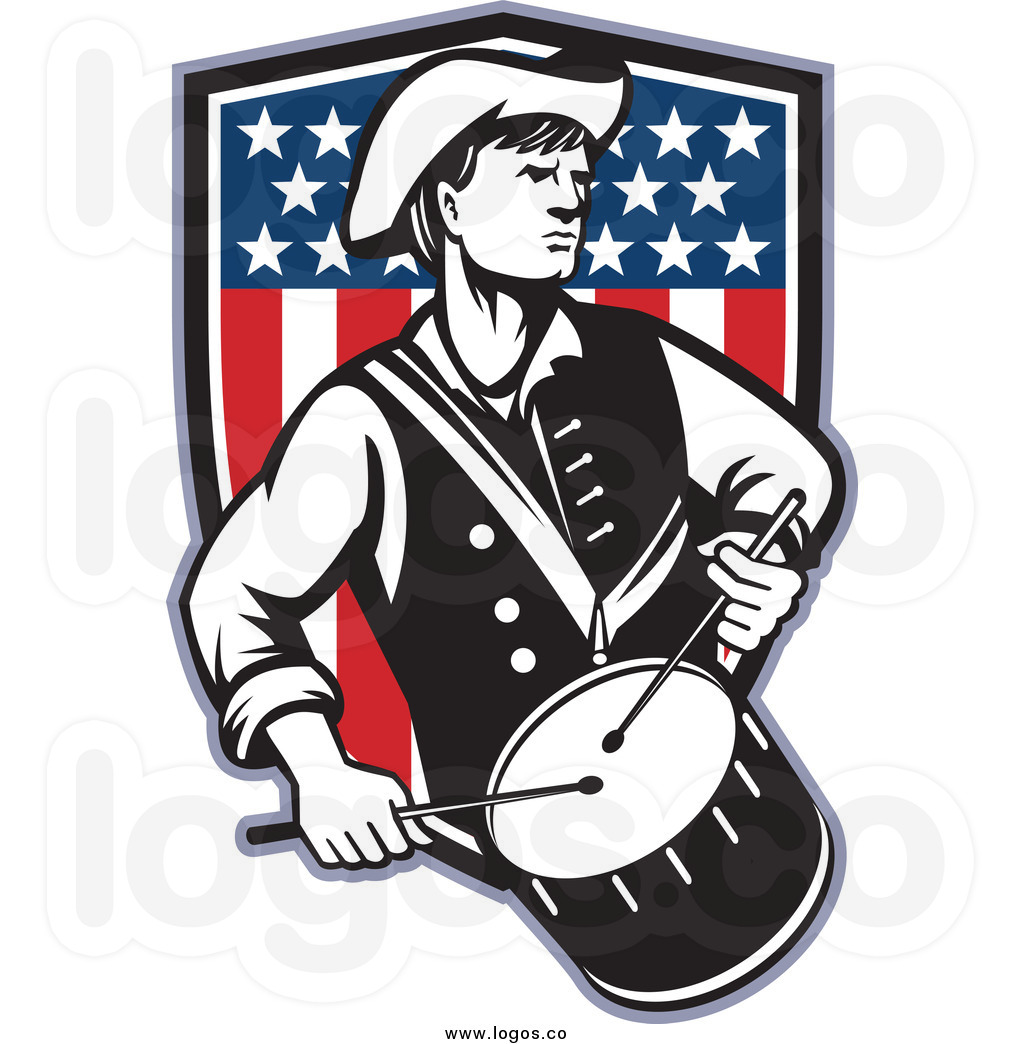 American revolution clipart colonists american.