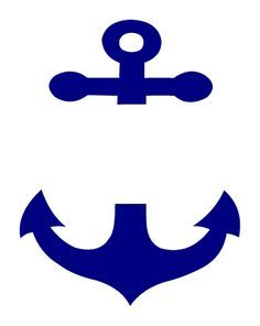 Anchor clipart monogram.