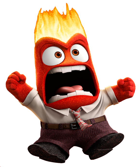Anger clipart inside out.