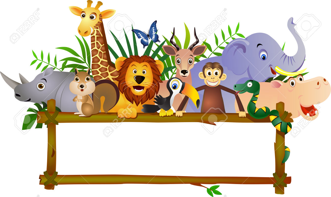 safari clipart jungle