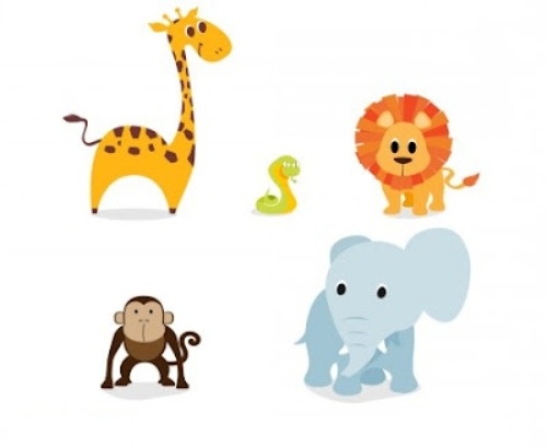Animal clipart transparent.