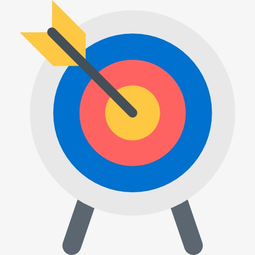 Archery clipart target.