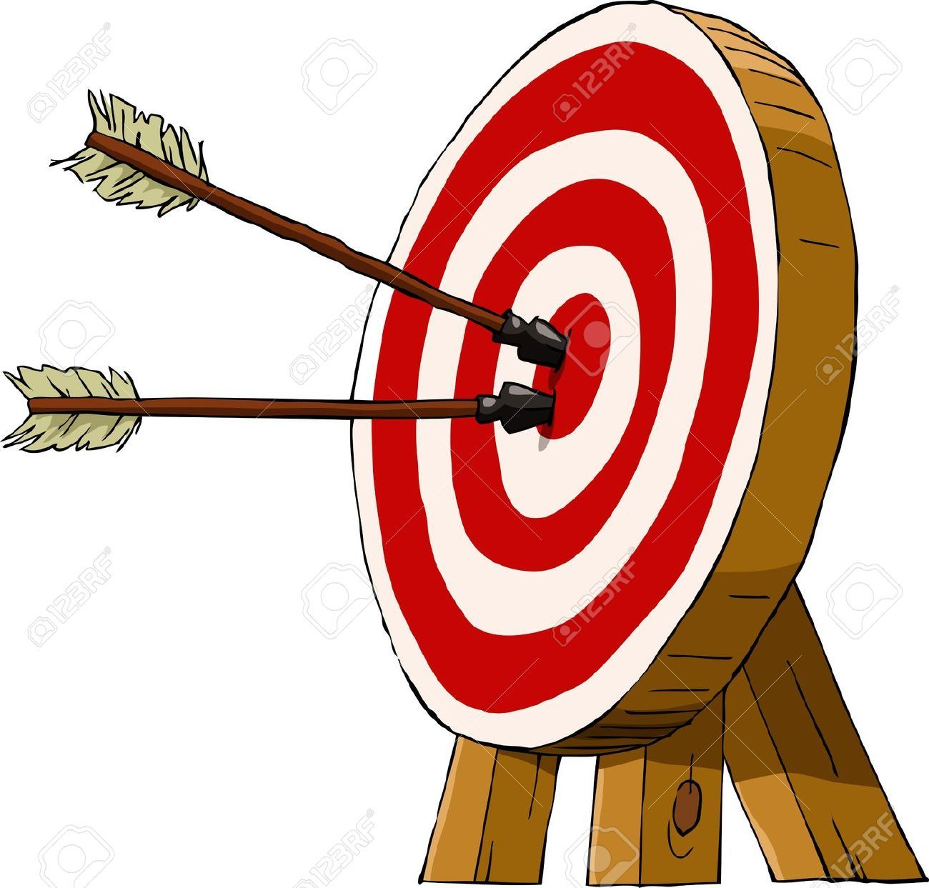 archery clipart vector