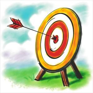 archery clipart shooting