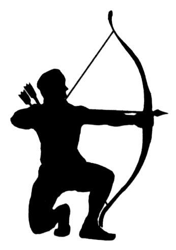 archery clipart hunting