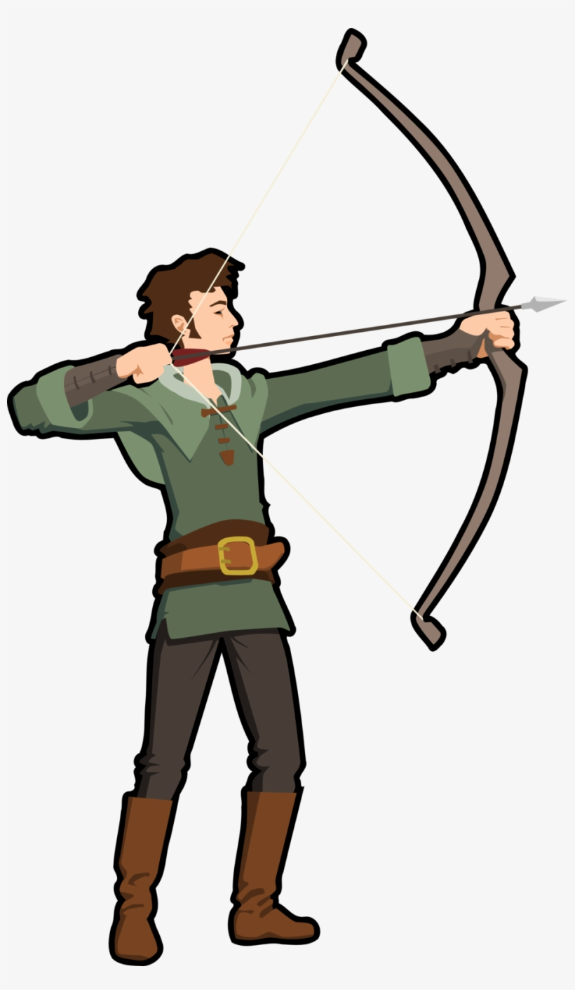 Archery clipart traditional.