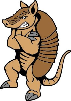 Armadillo clipart cool.