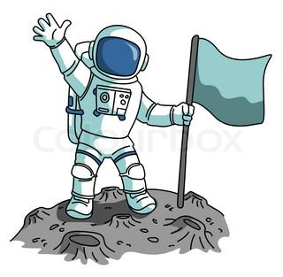 Astronaut clipart two.