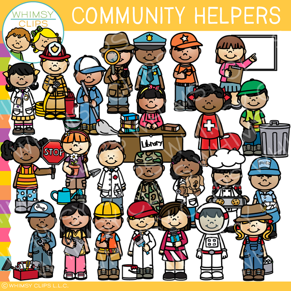 Community clipart community helper.