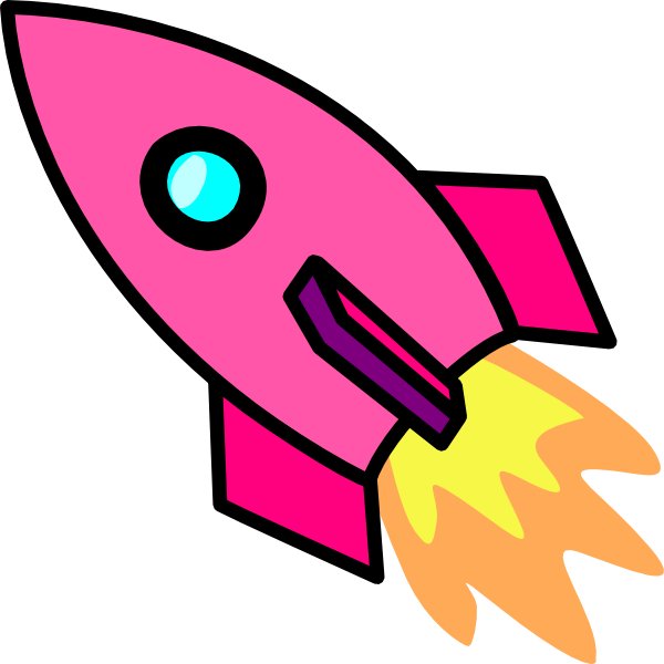 astronaut clipart pink