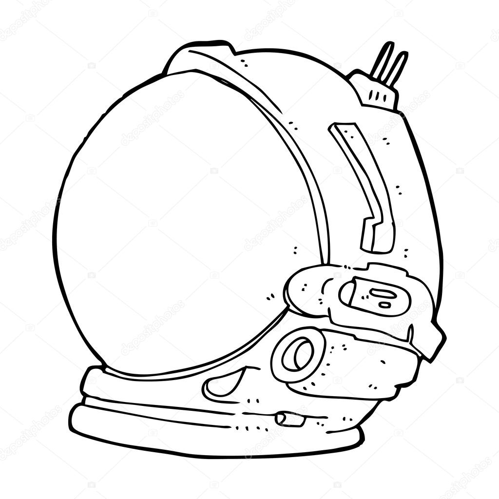 Astronaut clipart side view.