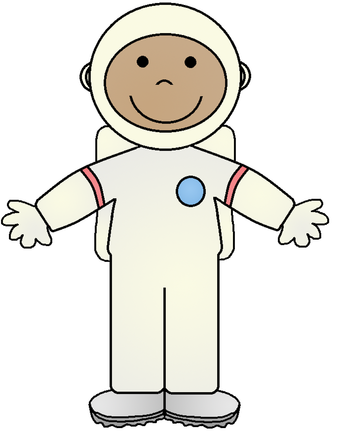 Astronaut clipart dress.