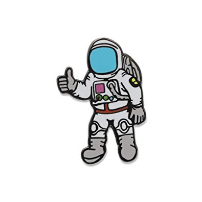 Astronaut clipart thumbs up.