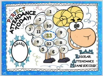 Attendance clipart posters.