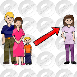 aunt clipart family 8