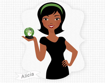 Aunt clipart african american.