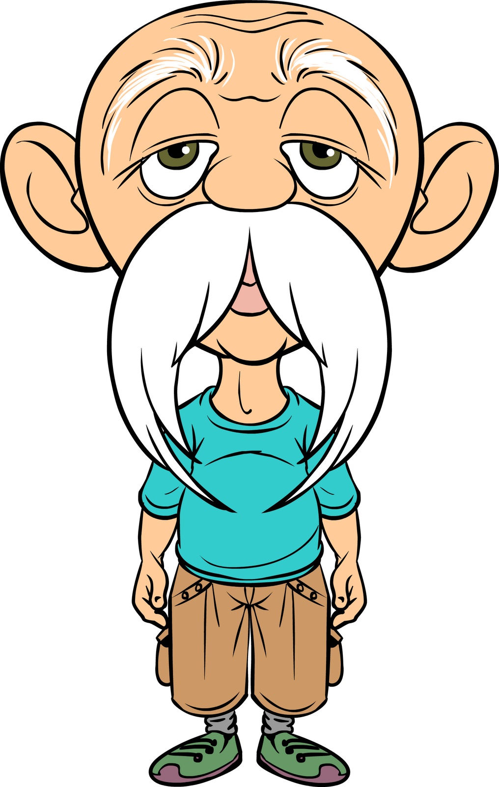 Aunt clipart father head.