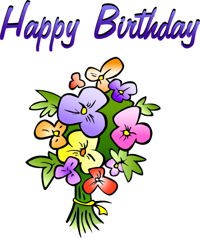 happy birthday clipart for her animated