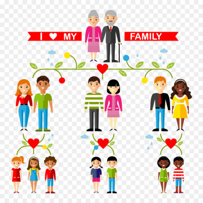 Aunt clipart my happy family.