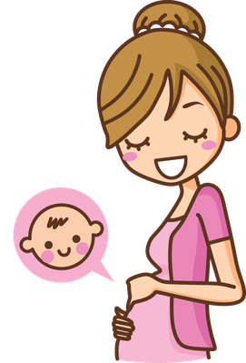 pregnant clipart transparent background