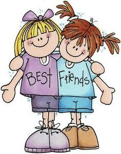 friendship clipart cute
