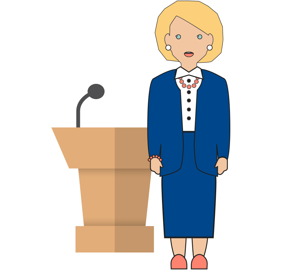 reverend clipart woman