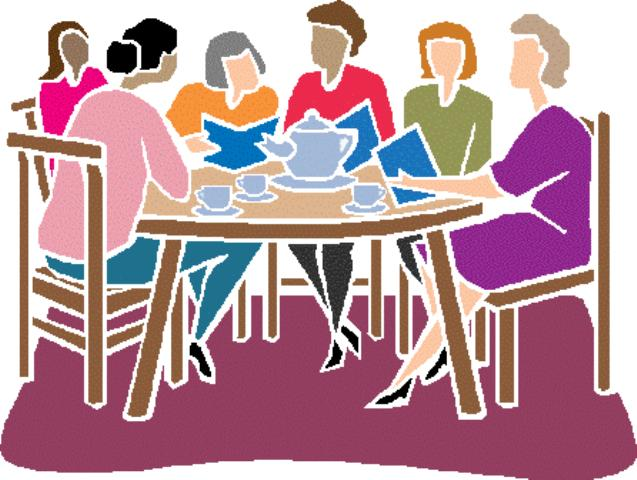 Aunt clipart womens meeting.