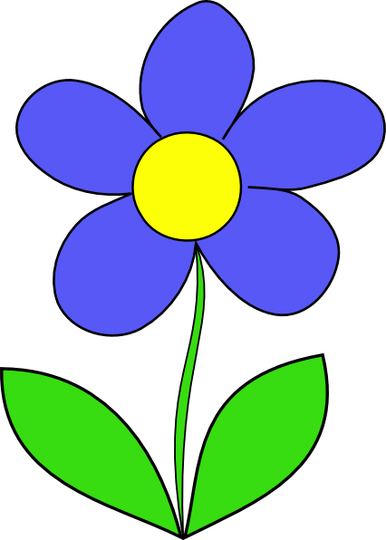 flowers clipart simple