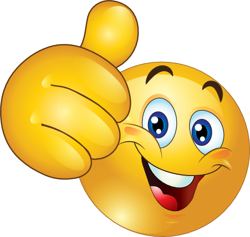 clipart thumbs up star